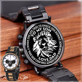 Engraving Wooden Wristwatches - Great Gifts For Your Son