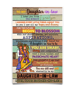 To My Daughter-in-law Poster