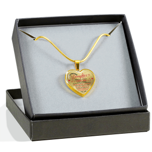 To My Daughter Necklace Love Dad