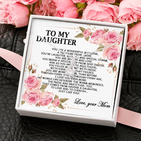 To My Daughter Alluring Beauty Necklace - Gift For Daughter