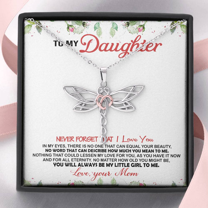 To My Daughter Necklace