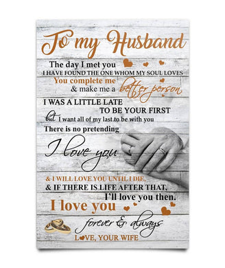 To My Husband Poster