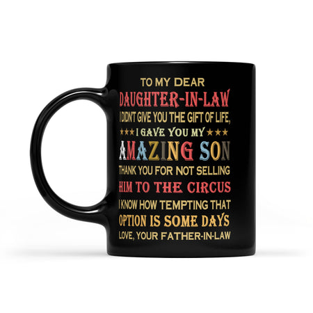 Daughter-in-law Black Mug