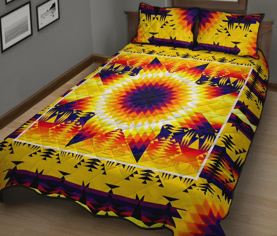 Electric Powwow Star Quilt