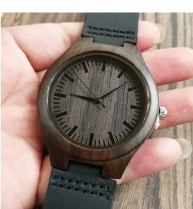 To My Dad Wooden Watch