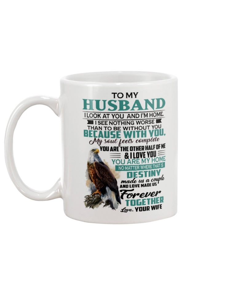 To My Husband Mug