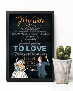 Gifts For Wife - To My Wife  Poster