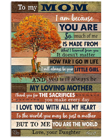 To My Mom Poster