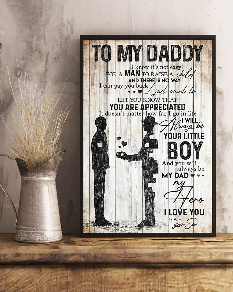 To My Dad Poster