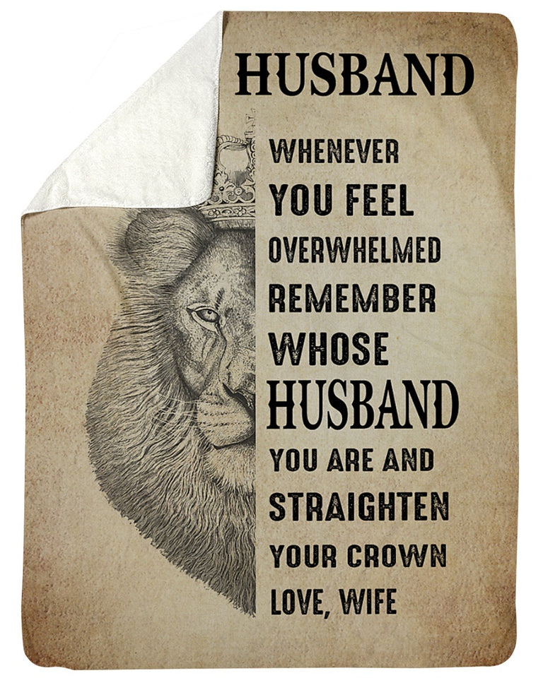 Fleece Blanket - To My Husband Fleece Blanket