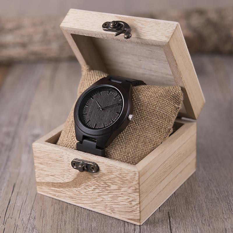 DAUGHTER DAD - To My Daughter Wooden Watch