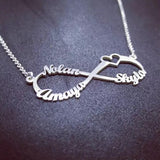 Personalized Custom Name Necklace Gold 18K/ 925 Silver