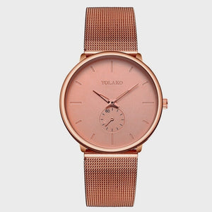 Watches Brand New Fashion Quartz Casual Stainless Steel