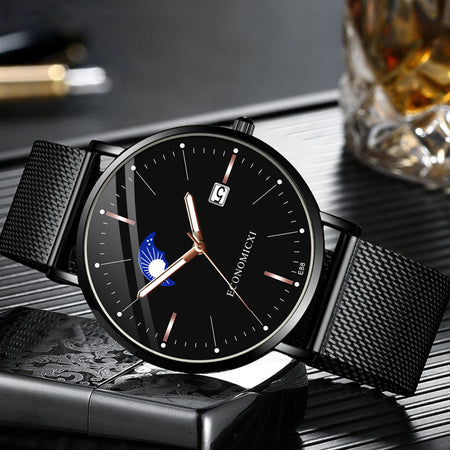 Watch Quartz Fashion Leisure Luminous Men Watches