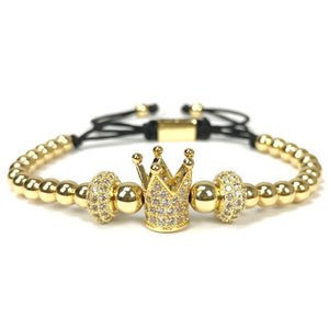 Crown Charms Bracelet