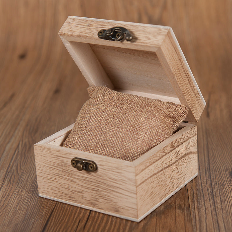 Men's  Wooden Watches With Full Real Wood Band Quartz Watch in Gift Box
