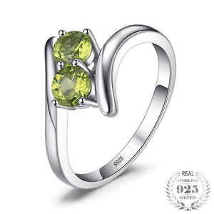 Engagement Rings For Women 100% 925 Sterling Silver Fine Jewelry