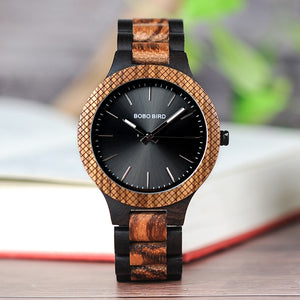 Wood Watch For Men with Wooden Gifts Box
