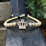 Crown Charms Bracelet For Women