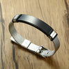 Great Gifts Son - Bangle Bracelet Silver