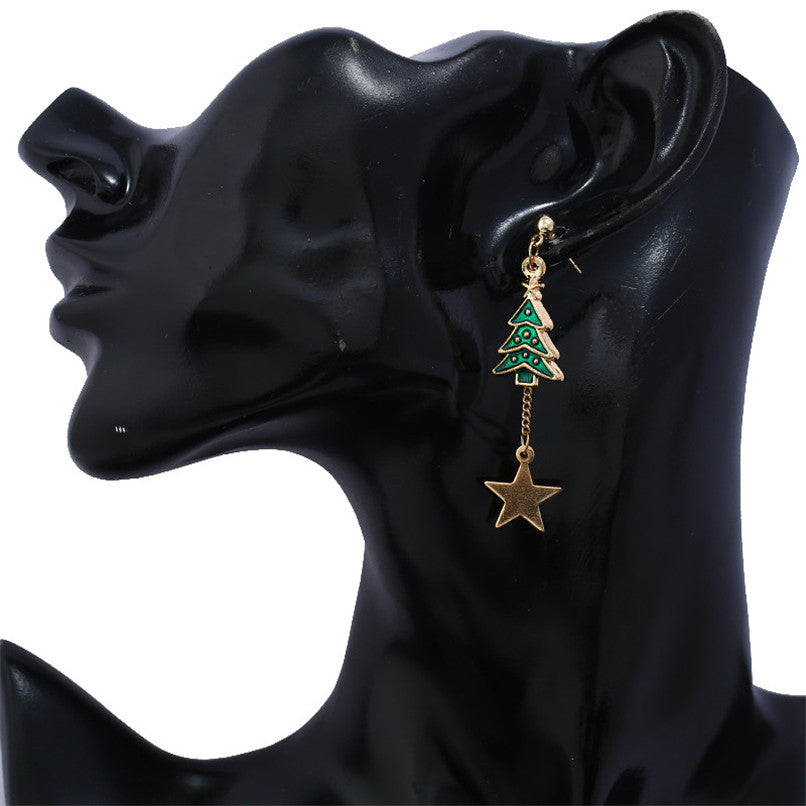 Earring For Women Santa Claus Jewelry Christmas