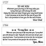 Engraving Watch & Wallet Set - Special Present Gift to My Husband/Boyfriend/Son