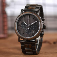 Great Gift For MAN- Engraved Wooden Wristwatches