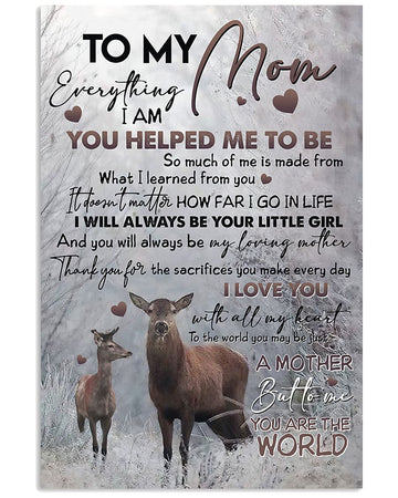 Perfect Gifts For Mom - To My Mother Poster
