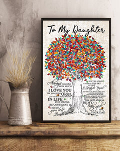 Daughter Poster Gifts - Perfect Gifts For Daughter