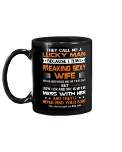 Great Mug Gift For Luck Man