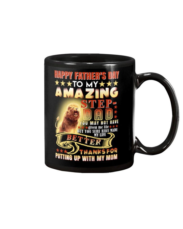 Great Coffee Mug Gift For StepDad