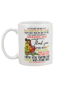 Daughter-in-law Coffee Mug Gifts - Gift For Daugher-In-Law