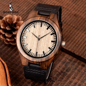Engraved Wooden Watch - Great Gift For Your Son-In-Law