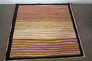 Awelye - Women's CeremonyOriginal Aboriginal PaintingKathleen Petyarre (c.1938 to 2018)Boomerang Art