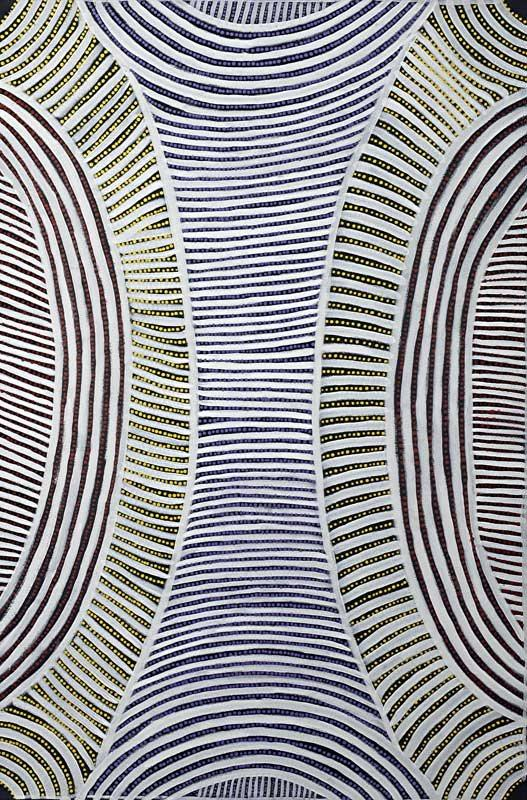 Awelye - Body Paint - Boomerang Art - Ada Bird Petyarre (1930-2009) - #product _type#