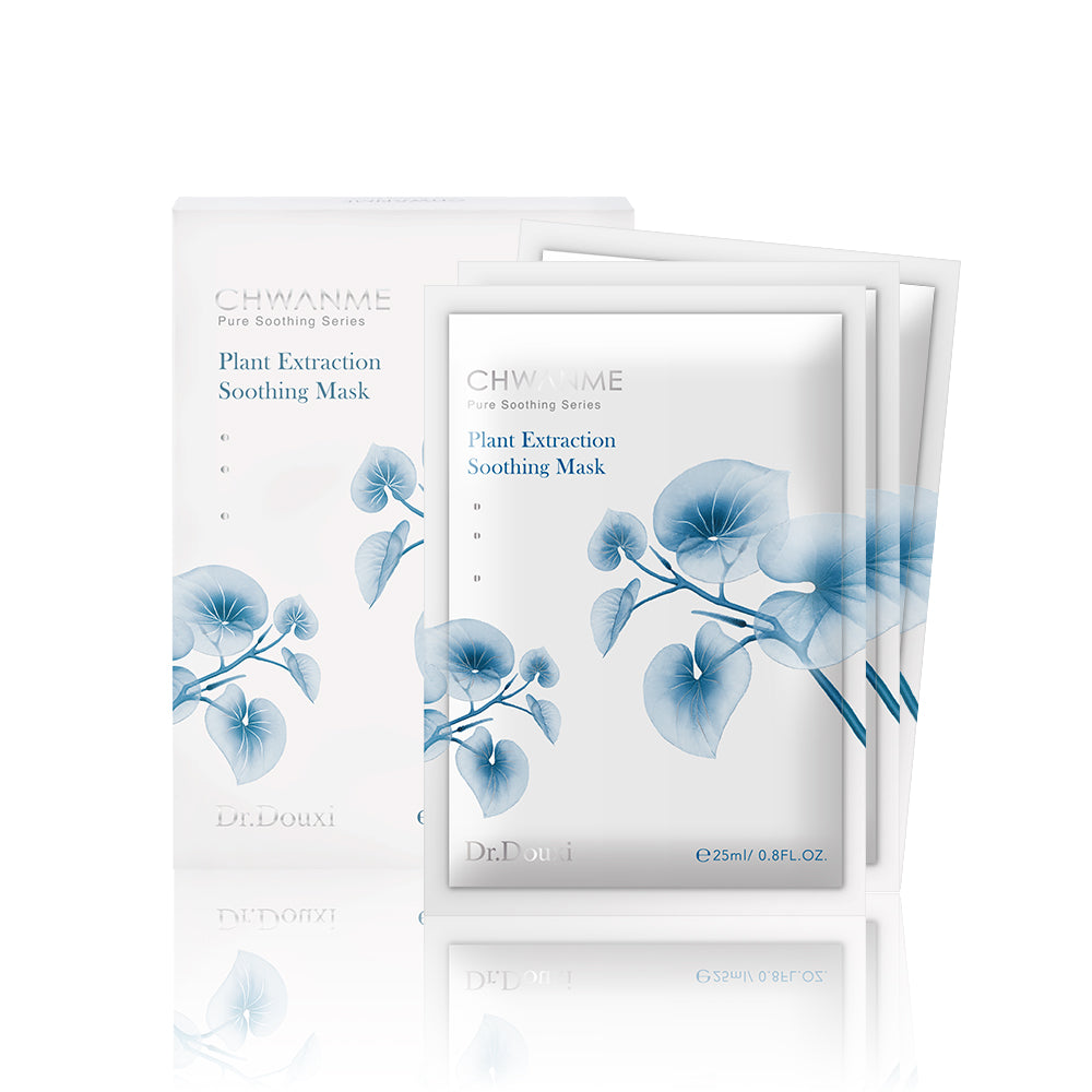 CHWANME Plan Extraction Soothing Mask (3 pcs)
