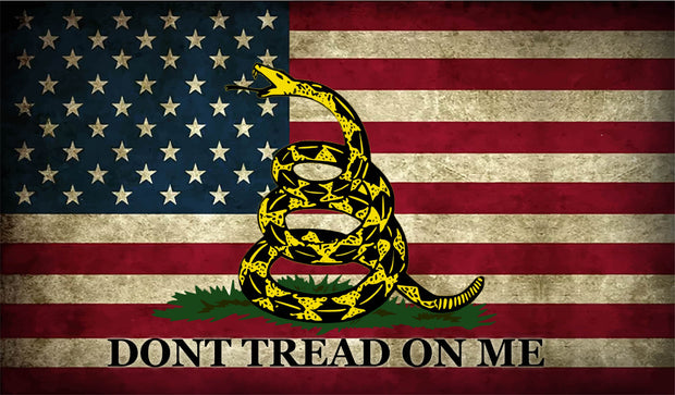 Don't Tread on Me Flag Decal