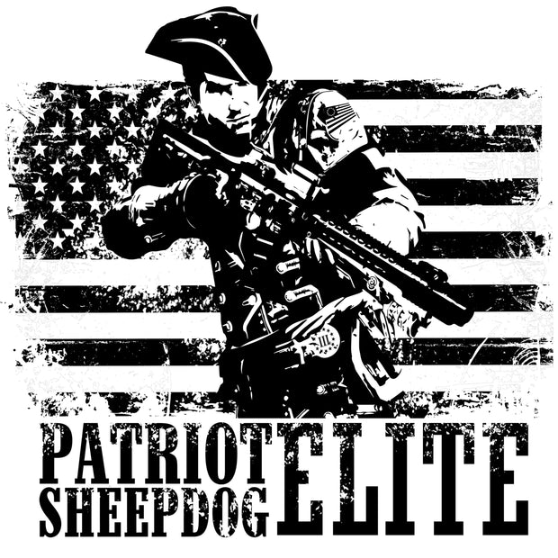 Patriot Sheepdog Elite Decal