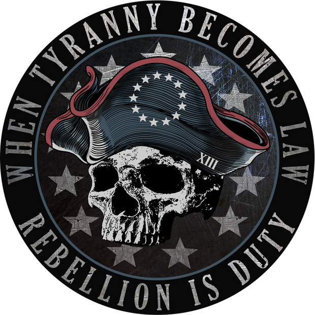 Patriot Sheepdog - Rebellion Is Duty Decal