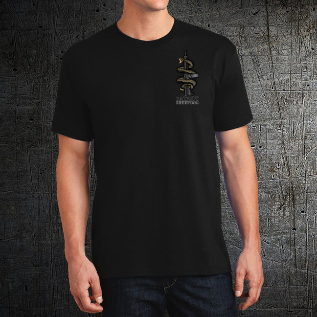 Molōn labe! - Come and Take Them Black Tee Shirt