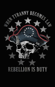 Patriot Sheepdog Tricorn Hat - Rebellion Is Duty Shirt