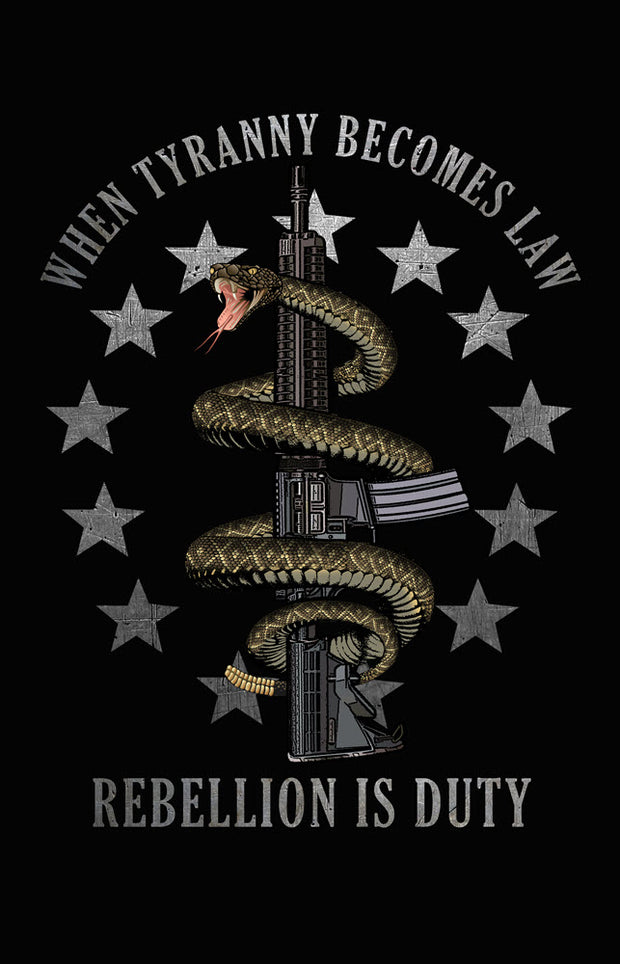 Gadsden Snake - Rebellion Is Duty Shirt