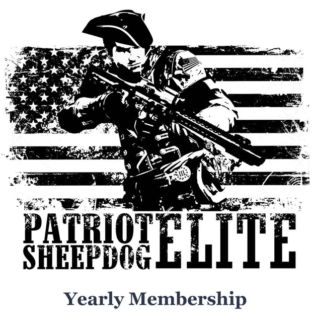 Patriot Sheepdog Elite - Yearly Membership
