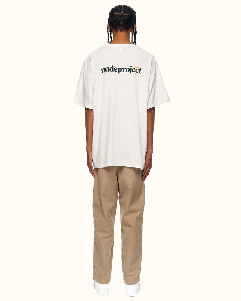TRADEMARK TEE WHITE - NUDE PROJECT