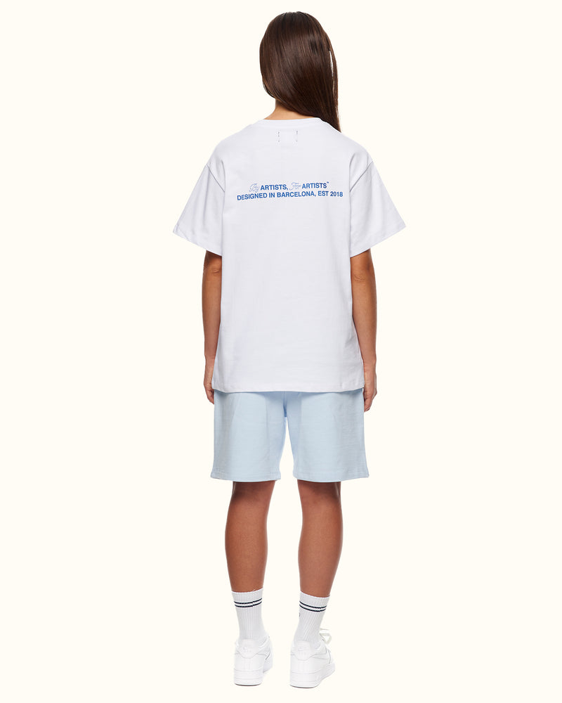 BCN TEE WHITE - NUDE PROJECT