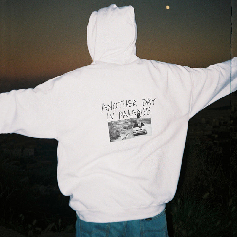 PARADISE HOOD WHITE - NUDE PROJECT