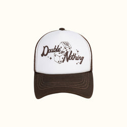 DOUBLE OR NOTHING TRUCKER CAP - NUDE PROJECT
