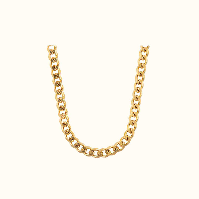 Cuban Link Chain Gold - NUDE PROJECT
