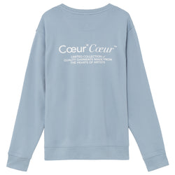 Coeur sky blue crew - NUDE PROJECT