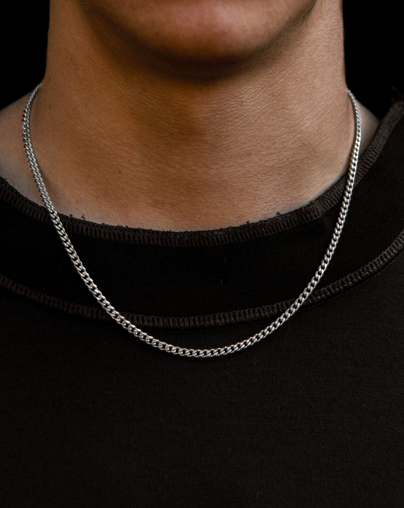 Cuban Link Chain Silver - NUDE PROJECT